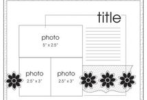 Scrapbooking Layouts - Sketches / by Jolene Mohr