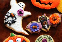 Icing cookies Halloween