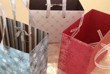 Gift box and scrapbook