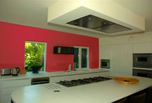 Ceiling Mounted Cooker Hoods / These beautiful fully recessed ceiling extractors create a seamless solution for the ever popular open-plan kitchen setting. With all the workings disappearing above the ceiling, featuring minimalist design and perimeter panel extraction They can be fitted flush-mount or built into a suspended ceiling feature. The extractor's sleek design ensures they are unobtrusive and complement the design of any kitchen.  Available with internal motor or with the option of a powerful external motor