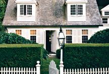 curb appeal / Ideas for updating our 1948 Red Brick Cape Cod.