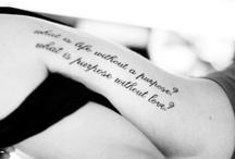 Ink I want / by Miranda Allen