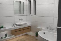PERSONAL CHICK / Σχεδιασμός και φωτορεαλιστική απεικόνιση για ανακαίνιση μπάνιου σε κατοικία στην Θεσσαλονίκη.