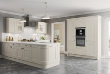 Burbidge's Marlow Kitchen / This board shows our highly competitive, contemporary shaker style Marlow Kitchen - available from stock in light grey and ivory, our 25 standard colours and 150th Anniversary Palette you can make the Marlow Kitchen uniquely yours.