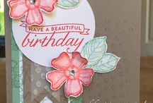 Stampin Up Cards / Card inspirations using SU products
