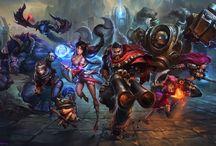 League of Legends / A game.