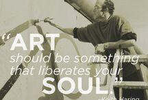 Umění slovy... / Umění slovy umělců i jiných. Citáty ze světa umění.