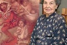 Lucy Tejada / Lucy Tejada Sáenz fue una artista colombiana contemporánea que vivió muchos años en Cali. Fecha de nacimiento: 9 de octubre de 1920, Colombia Lugar de la muerte: Cali, Colombia 2 noviembre 2011