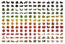 Fruits et légumes / Les fruits et légumes de saison.