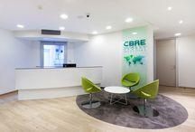 Reception desk inspiration / reception, desk, sitting, modern, design