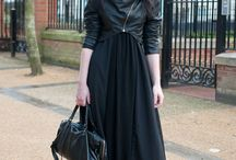 Structured Dark Urban / Street Goth Style, Urban Wear, Dark Urban, Chic, Minimalist, Black, Structured