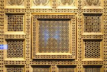 Design art: Islamic Decorative Carved pattern