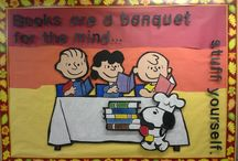 """The """"different"""" librarian bulletin boards / by Jennifer Hamilton"""