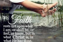 My faith / Things that draw me closer to my God