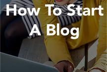 Blogs creation
