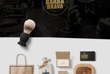 Barba Brava / Branding and character illustration for BARBA BRAVA - Premium quality Beard care. Visit my Behance portfolio on: https://www.behance.net/galle…/25167507/Barba-Brava-Branding