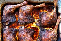 Duck legs crispy marinated