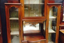 Displays For Your Collectibles / Great auction finds to display collectibles in your home or business.
