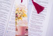 Colourful bookmarks / Semne de carte viu colorate cu mesaje incurajatoare.