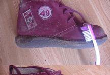 Nettoyer et entretenir du daim / Fan de chaussures en daim, j'ai tout essayé pour les nettoyer et les entretenir le mieux possible !!