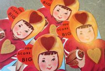 Vintage Valentine Cuteness / Because who doesn't love Valentine's Day?