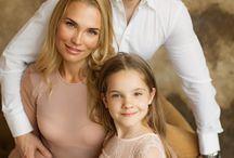 Фотосессия Новый год семья