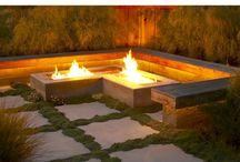 -{ fire pit }- / Fire pit ideas