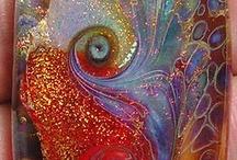 Artistas del vidrio.