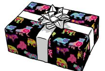 DOG giftwraps / visit my shop at spoonflower - all fabrics are also available as gift wraps:-))) <3