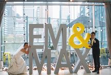 Modern Wedding / Inspiration for a modern wedding