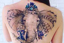 Elefanttatueringar