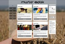 Homepage / Meine designten Homepagen