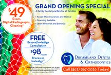 Grand opening Special Dental & Orthodontics Bellflower, CA / We are a family owned and operated dental and orthodontics office for all your dental needs in bellflower, ca and surrounding cities: Long Beach, Lakewood, Downey, Artesia, Cerritos, Paramount, Compton, Los Angeles, And Orange County.   We believe in creating dream smiles that last you a life time.