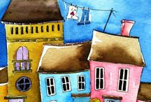 whimsical cities