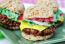 Food: Rice Krispie Treats / by Heidi Jensen