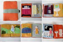 Felt Board Books / by Claudia George
