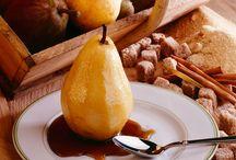 Recettes avec Poires / Voici des idées de recettes avec poires pour les jours où vous cherchez une collation sucrée, mais santé.