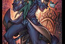 comics heroes & villains