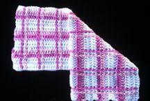 Crochet towels - Heklaðir klútar