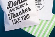 Thank you ideas for teachers
