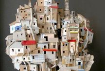 Houses:little & paper houses