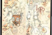 dessin / crayonnés / rotring