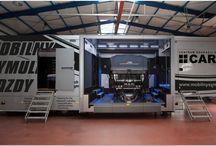 Symulator jazdy w warunkach specjalnych samochodem ciężarowym i autobusem