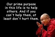 dalai lama thinking of way...