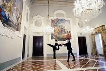 Peso Sospeso: Bolero / Sabrina Brazzo, the étoile of Teatro alla Scala (www.sabrinabrazzo.com) with Andrea Volpintesta in a unique performance for Tombolini at Pitti Uomo.