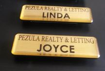 Magnetic Name Badges / We manufacture magnetic name badges, So create a name for your business - Email LOGO & LIST OF NAMES  to GET A QUOTE printing2design@gmail.com  Delivery anywhere in South Africa call 0715092480