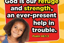 Daily Bible Verses for Kids & families! / Daily bible verses to encourage and inspire kids and families.  #kidmin #sundayschool