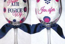 Wine glass Airforce / Wine glass