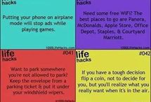 Clever life hacks