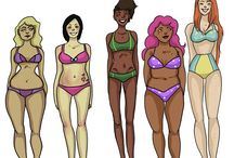 All Bodies Are Beautiful / There is no perfect body -- only beautifully imperfect and sublimely unique bodies, like yours!